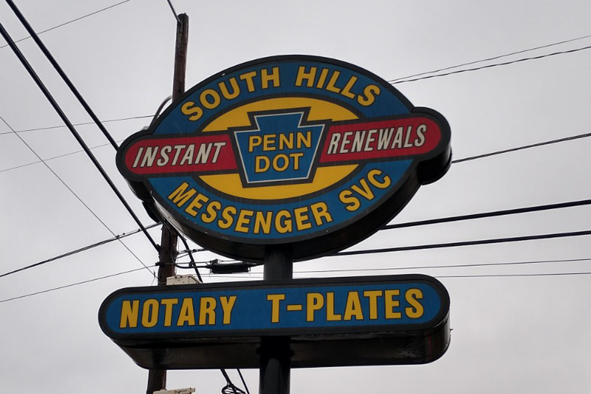 PennDot Messenger Service South of Pittsburgh